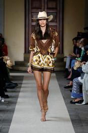 Luisa Spagnoli Present SS2 Fashion Show at Milan Fashion Week 2021