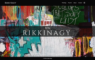 Artist RikkiNagy Website