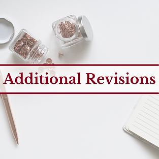 Additional Revisions