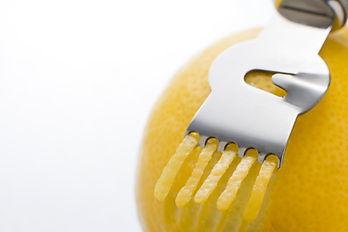 Menus Helpers Recipes How to zest a lemon