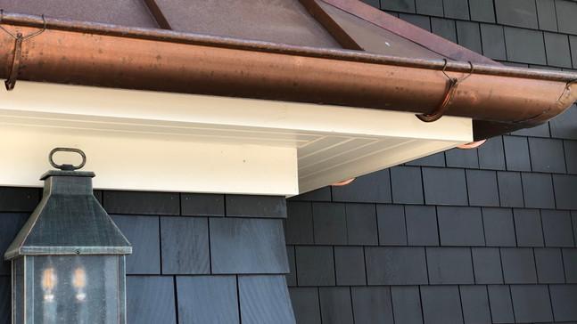 Sea Girt NJ renovation copper gutter spr