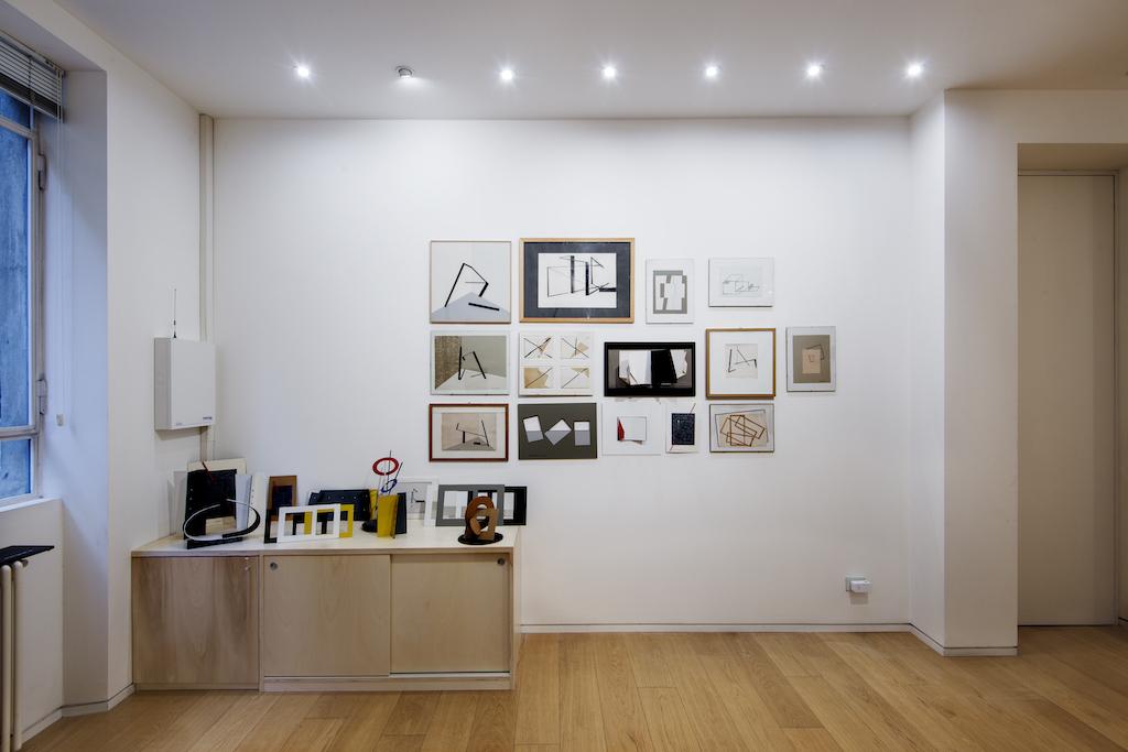 """Installation views: """"Ne ho solo 80…Grazia Varisco"""", Cortesi Gallery Milan Photo by: Cesare Chimenti. Courtesy: Cortesi Gallery London, Milano, Lugano."""