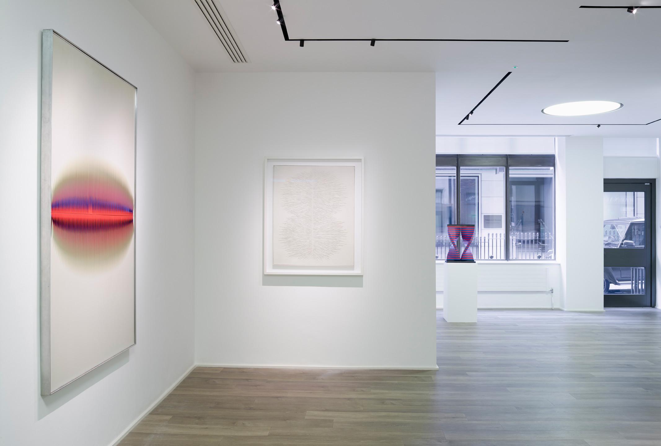 "Installation views ""Walter Leblanc. Sensorial Geometries"", Cortesi Gallery, London Photo by Peter Mallet. Courtesy Cortesi Gallery London, Milan,  Lugano."