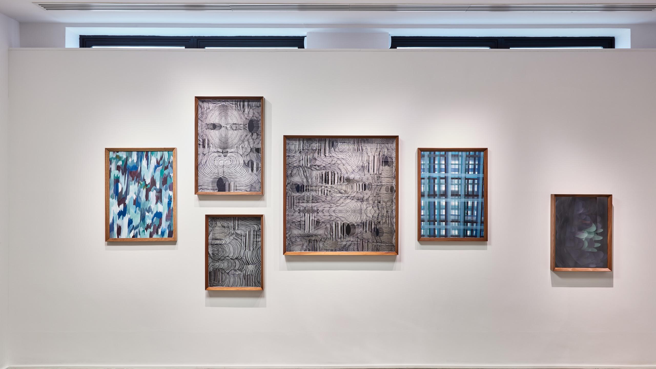 "Installation view: ""Maurizio Donzelli. Etcera"", Cortesi Gallery London Courtesy: Cortesi Gallery London, Milan, Lugano"
