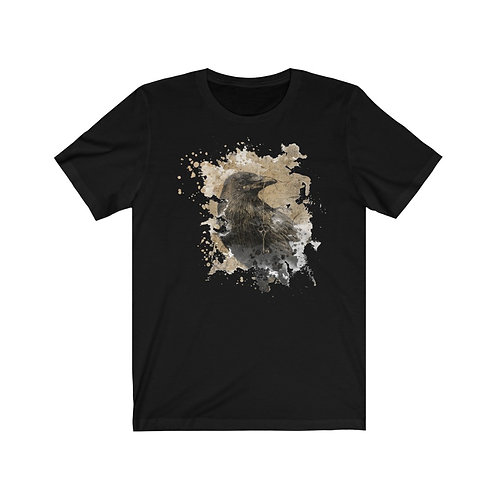 Raven Collage Unisex Jersey Short Sleeve Tee