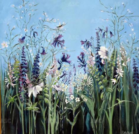 Hornets Amongst the Flowers