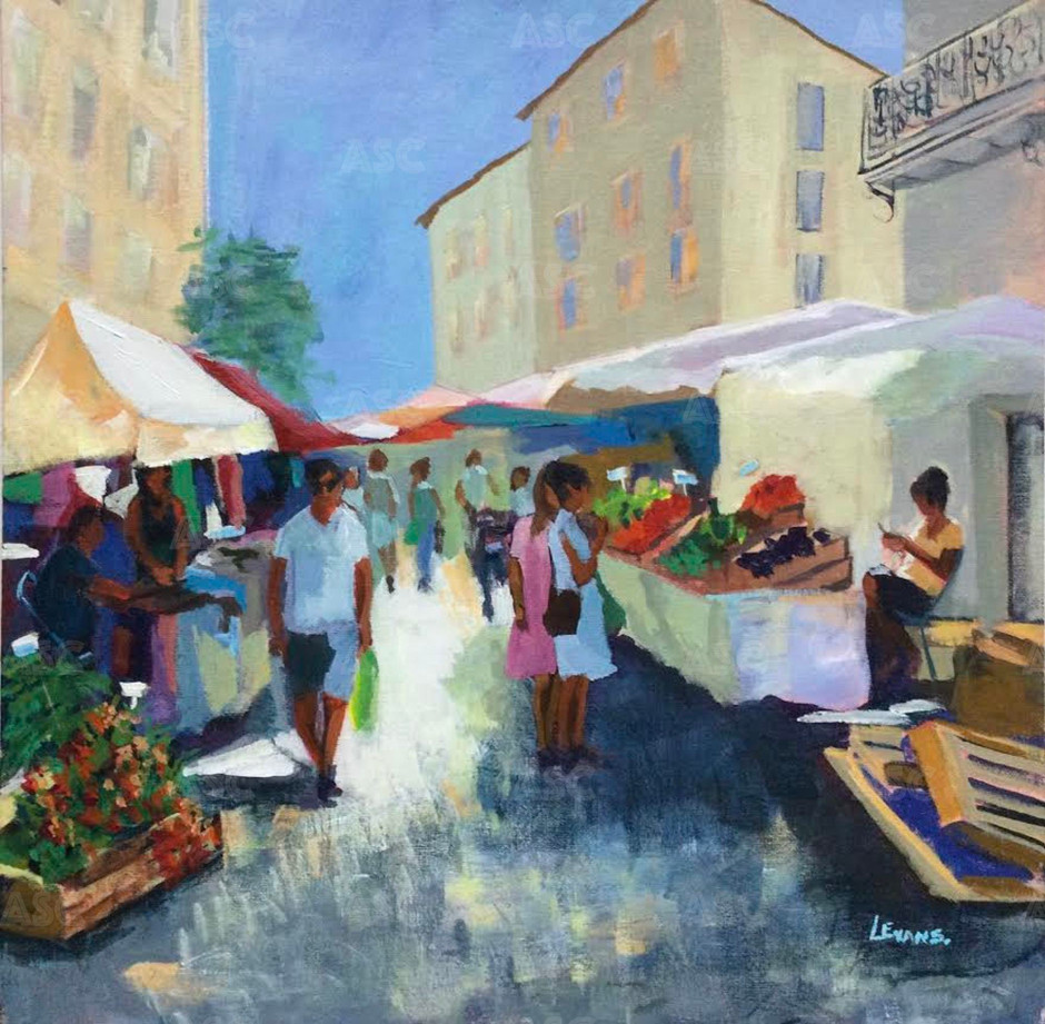 Market Day, Cassis