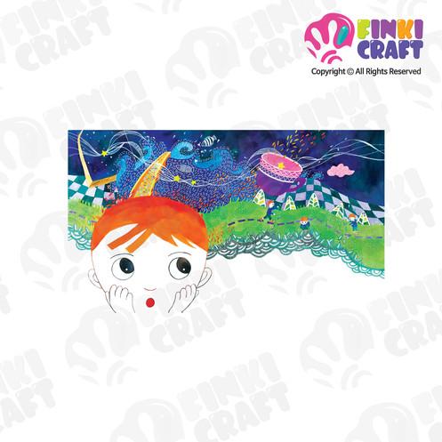 llustration digital art download- 45cm*26cm star story 09