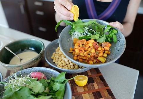 letil chickpea plantbased stew