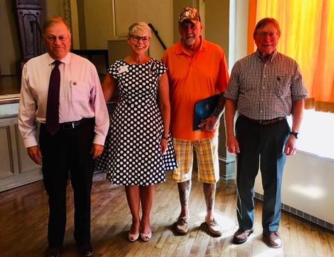 Honoring Vietnam Veterans at a  Chapter Meeting