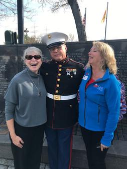 Honoring Veterans at the Vietnam Veterans' Memorial