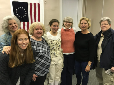 """A Lecture at HSP with """"Deborah Sampson"""""""