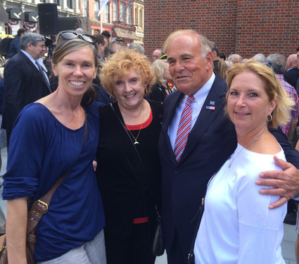 We met Ed Rendell on a visit to the Museum of the American Revolution.
