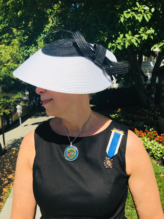 Showing off hats and pins are a guilty pleasure.