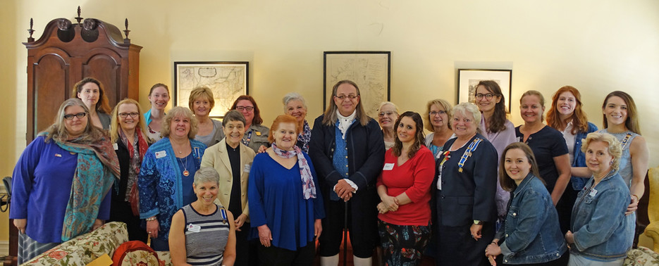 Ben Franklin was our guest at our annual meeting.