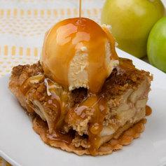 Carmel Covered Apple Crisp