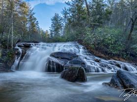DuPont Forest's Hidden Waterfall