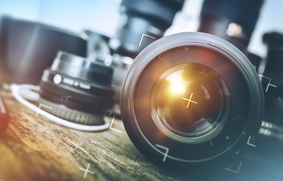 Professional Photography Equipment. Prof