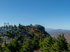 Hiking & Camping A Mile In The Sky; Grandfather Mountain