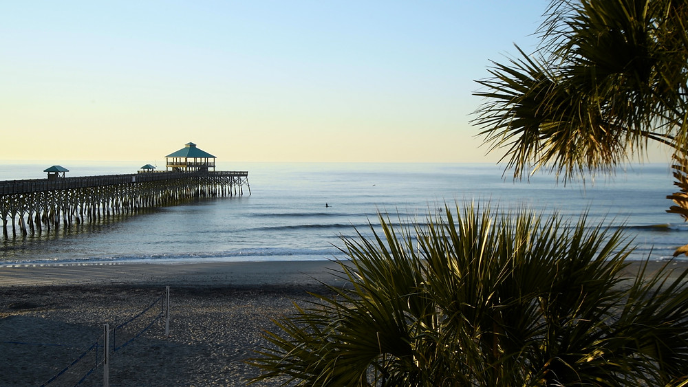 Folly Beach Pier outside of Charleston, South Carolina