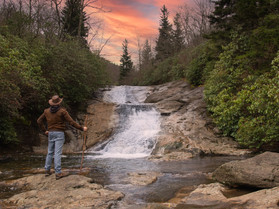 Four Must See Route 215 Waterfalls...