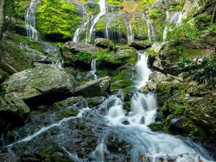 Catawba Falls - A Journey of Pure Fantasy and Beauty
