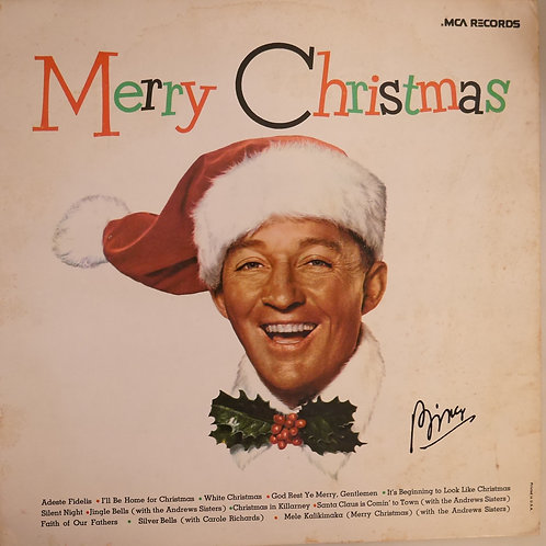 BING CROSBY / MERRY CHRISTMAS
