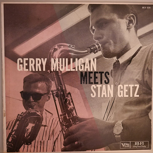 Gerry Mulligan Meets Stan Getz /Ray Brown, Stan Levey, Lou Levy