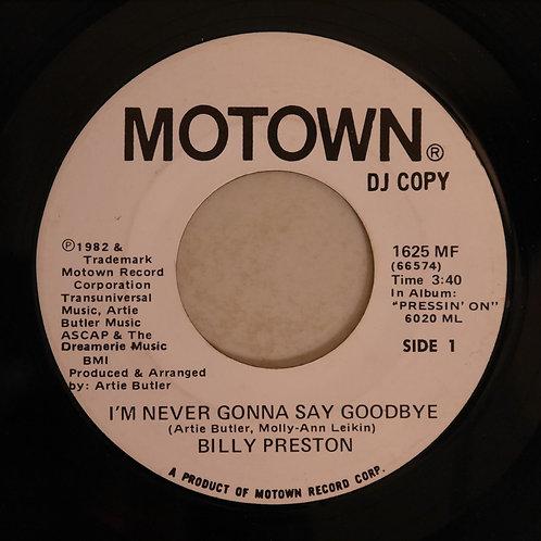 BILLY PRESTON / I'm Never Gonna Say Goodbye