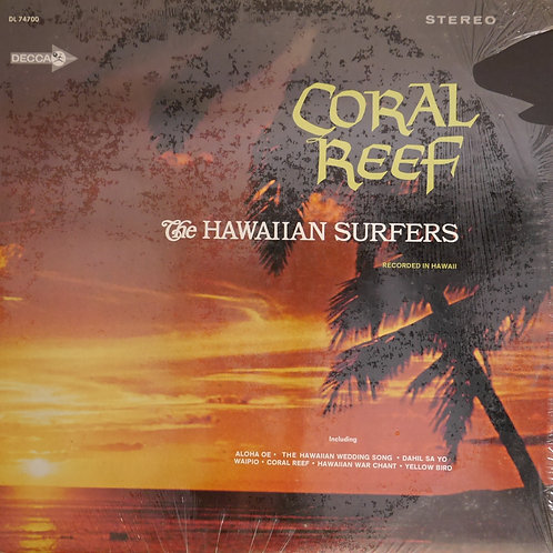 The Hawaiian Surfers / Coral Reef(US初期プレス)
