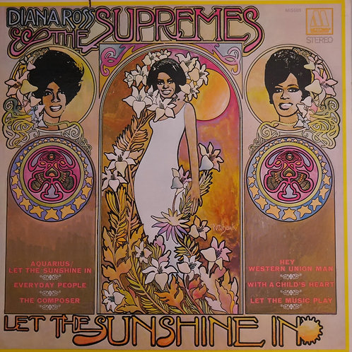 DIANA ROSS THE SUPREME / LET THE SUNSHINE