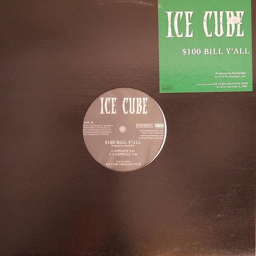 ICE CUBE / $100 BILL Y'ALL(USプロモ)