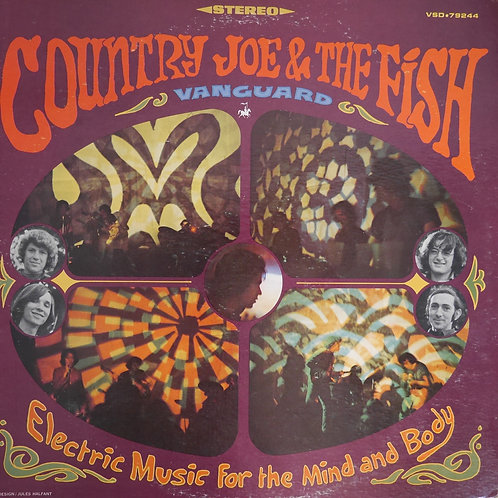COUNTRY JOE & THE FISH / Electric Music For The Mind And Body USオリジナル