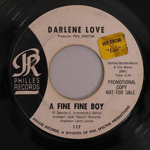 Darlene Love /A Fine, Fine Boy / Nino & Sonny (Big Trouble)(白ラベル初期プロモ)