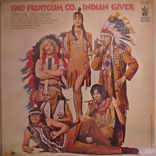 1910 FRUITGUM CO. / Indian Giver