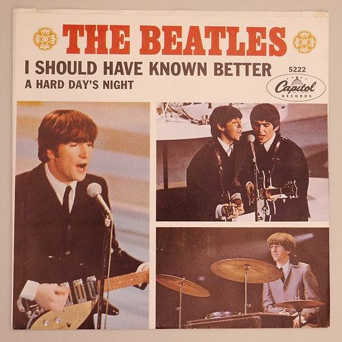THE BEATLES / A HARD DAY'S NIGHT CAPITOL 5222 スリーブ付 レア美品