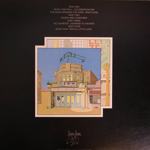 LED ZEPPELIN / The Soundtrack From The Film The Song Remains The Same 永遠の詩
