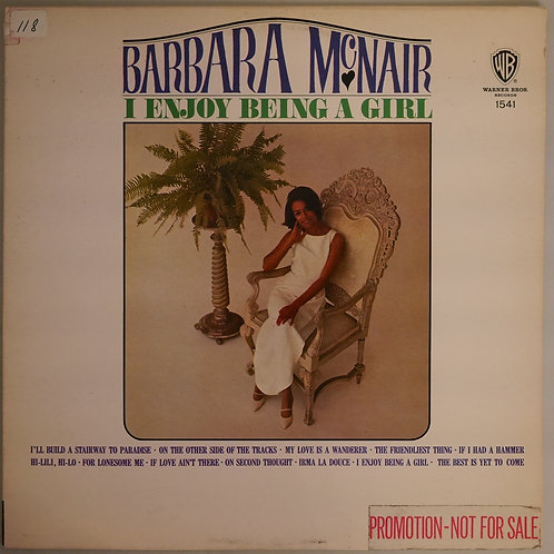 BARBARA MCNAIR / I Enjoy Being a Girl(USプロモMONO)
