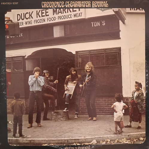 CREEDENCE CLEARWATER REVIVAL / Willy And The Poor Boys(白プロモ)
