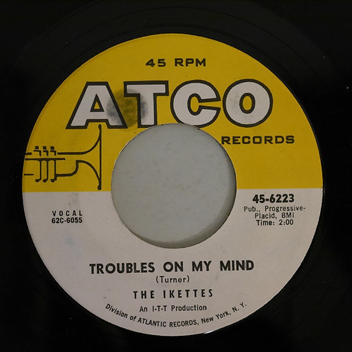 KETTES / Troubles On My Mind