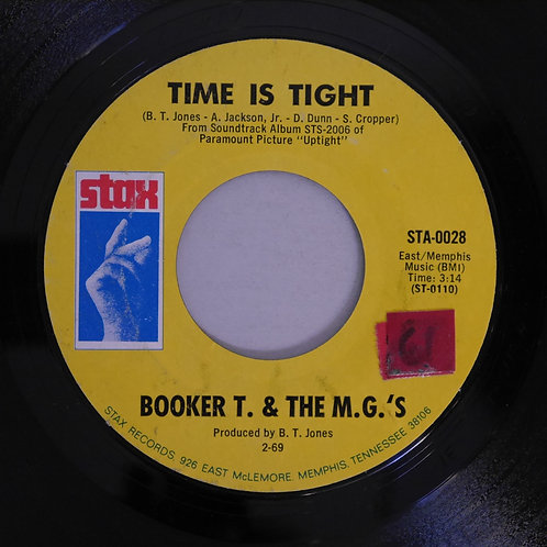 Booker T & The M.G.'s / Time Is Tight / Johnny, I Love You