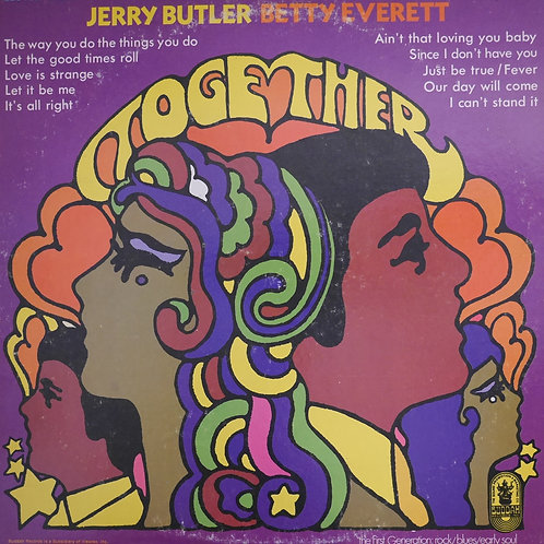 BETTY EVERETT & JERRY BUTLER / Together