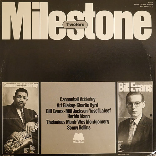 V.A / Bill Evans,Cannonball Adderley,Art Blakey,Thelonious Monk / Milestone Twof