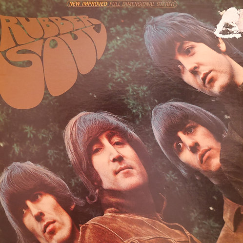 THE BEATLES / RUBBER SOUL   US-CAPITOL  APPLEラベル