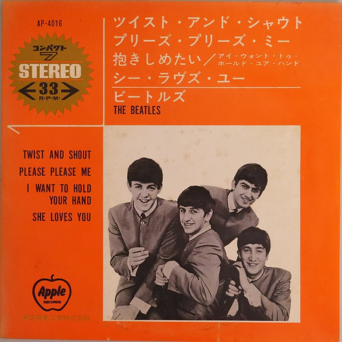THE BEATLES / TWIST AND SHOUT (ほか4曲入りコンパクト7)