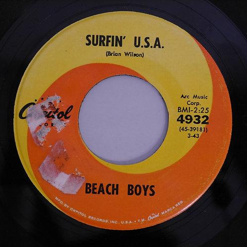 THE BEACH BOYS  / SURFIN' U.S.A. / SHUT DOWN