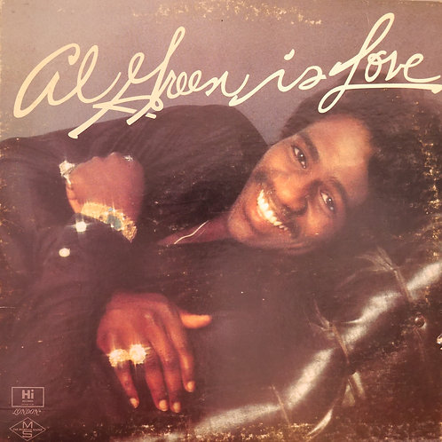 Al Green Is Love   レアなCANADA盤