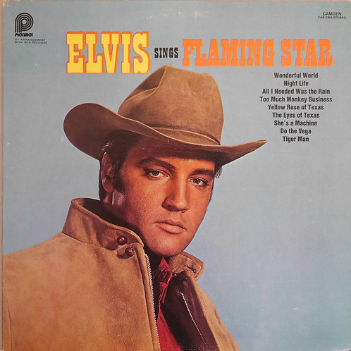 ELVIS PRESLEY / Elvis Sings Flaming Star