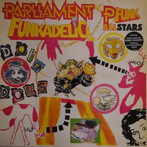 Parliament, Funkadelic & P-Funk All Stars / Dope Dogs(ホワイト・ヴァイナル2LP)