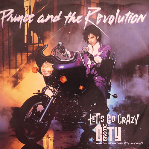 PRINCE AND THE REVOLUTION / Let's Go Crazy 7'USオリジナル